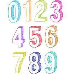 Numbers vector