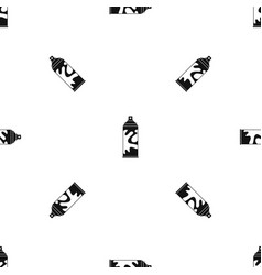 colored spray pattern seamless black vector image
