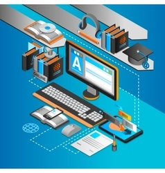 Learning Isometric Concept vector image vector image