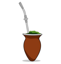 South American mate vector image vector image