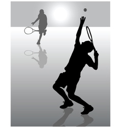 Tennis 8 vector
