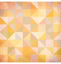 Abstract triangles grunge background vector image vector image