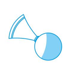 Air horn icon vector