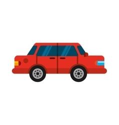 Car vehicle auto isolated icon vector