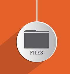 Files design vector