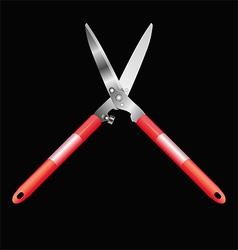 Garden shears vector