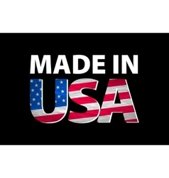 Made in the usa logo vector