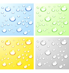 Wet surfaces vector