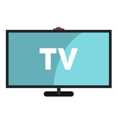 Television icon isolated vector