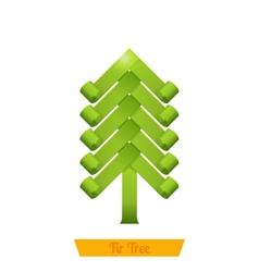 Fir Tree Green vector image