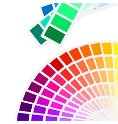 Color spectrum palette background vector