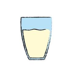 Fresh milk dairy vector image