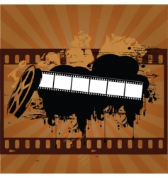 grunge entertainment vector image vector image