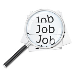 job seach vector image