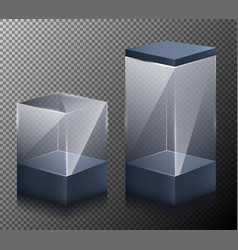 set of of small and large vector image vector image