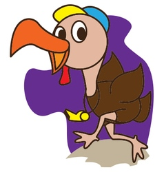 Coach turkey vector