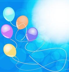 balloon01 vector image vector image