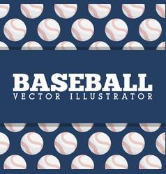 Baseball sport design vector