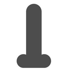 Dildo flat icon vector