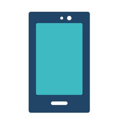 Isolated smartphone design vector