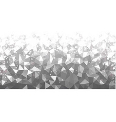 Gray geometric texture abstract background vector