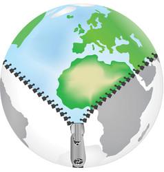 World zip vector