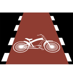 Bicycle traffic vector