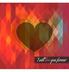 ValentineWillLoveUforever vector image