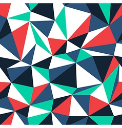 abstract color triangles vector image vector image