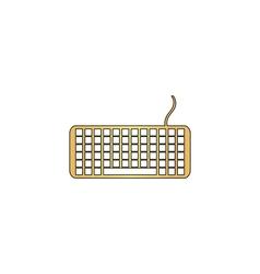 Keyboard computer symbol vector