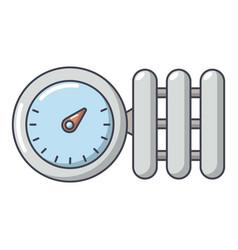 Manometer icon cartoon style vector
