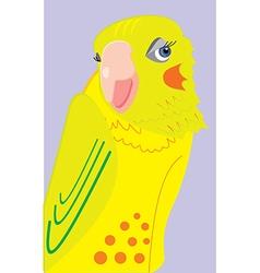 parrot 3c vector image vector image