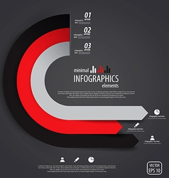infographics design 7 vector image