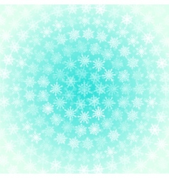 Background from white snowflakes arranged in vector