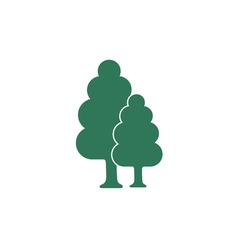 Tree and forest icon vector
