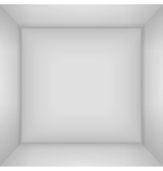 Box 3d top view Inner space of the box vector image