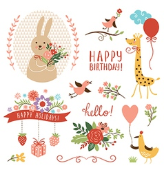 Holiday clip art vector