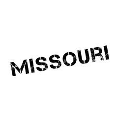 Missouri rubber stamp vector