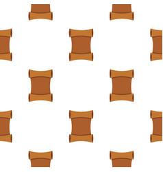 Scroll pattern flat vector