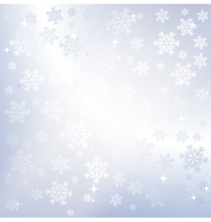 Silver winter abstract background vector image vector image