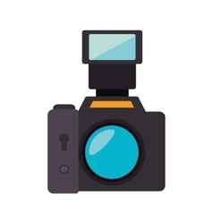 Photography camera professional vector