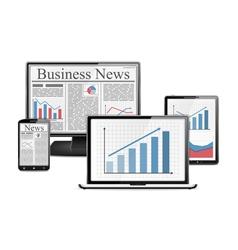 E-Business vector image