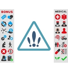 Multiple problems icon vector