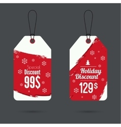 Set price tag vector