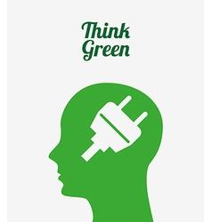 Ecological mind design vector