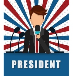 Presidents icon design vector
