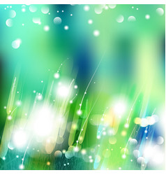Abstract defocused bokeh lights nature vector