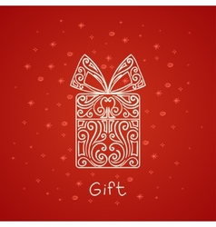 Abstract Gift vector image vector image