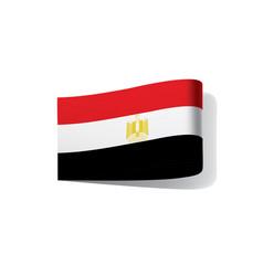 Egypt flag vector