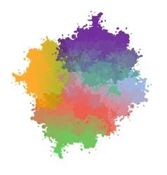 paint drop vector image